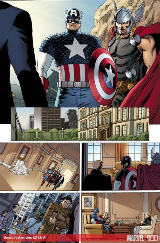 Página del Uncanny Avengers 1