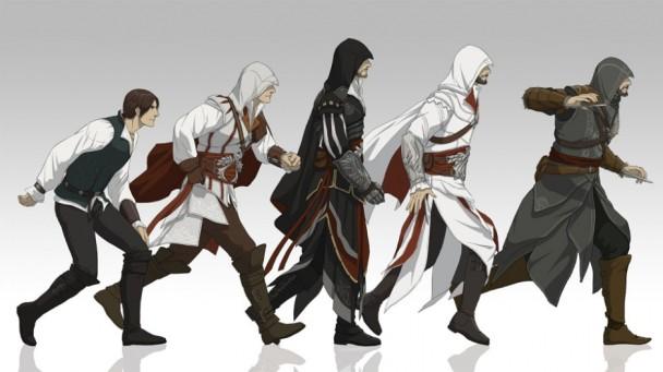 Evolución de Ezio Auditore