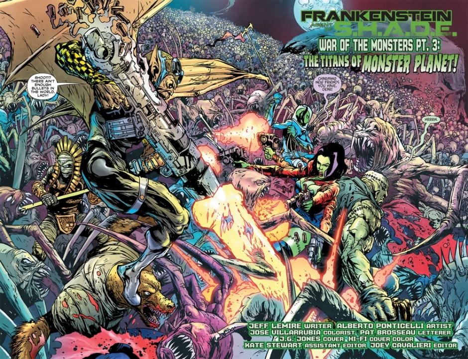 Frankenstein portada New 52