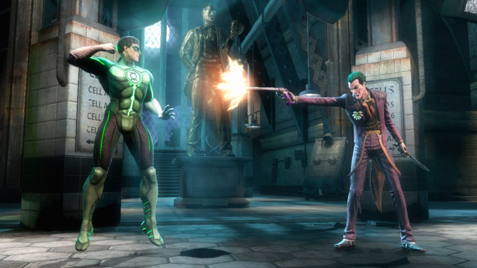 "Green Lantern y el Joker enfrentados en ""Injustice: Gods Among Us"""