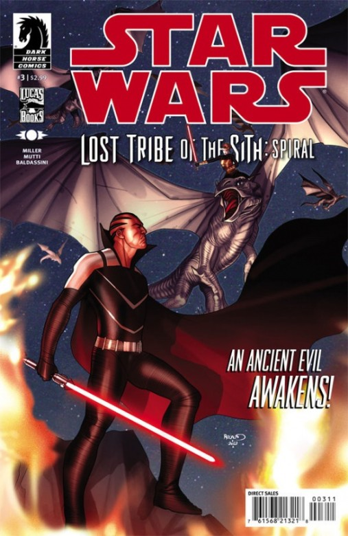 Portada del Star Wars: Lost Tribe of Sith 3