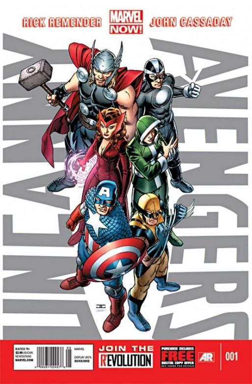 Portada del Uncanny Avengers 1