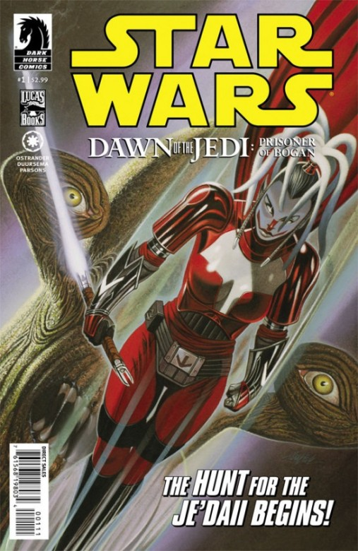 Portada de Star Wars: Dawn of the Jedi - The Prison of Bogan #1
