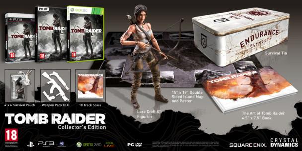 Ediciones de Tomb Raider