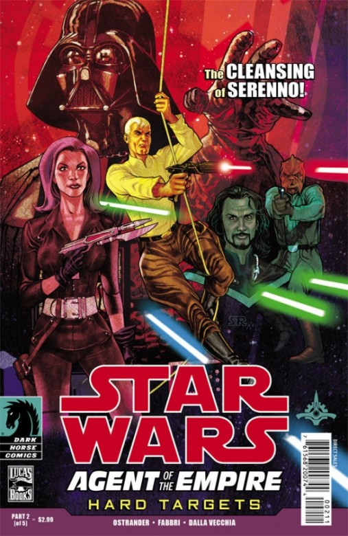 Portada del Star Wars: Agents of the Empire - Hard Targets 2