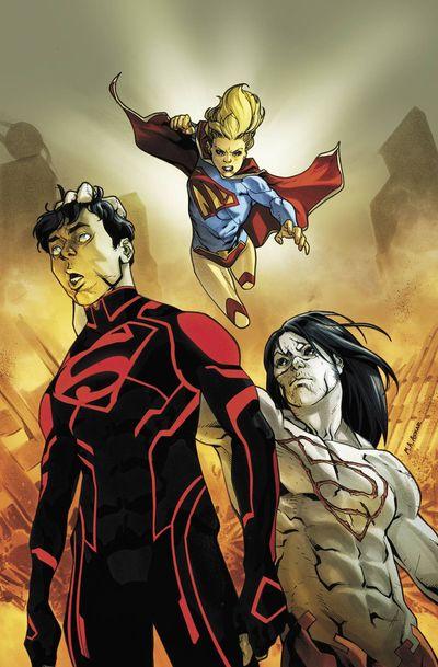 Portada del Supergirl 14