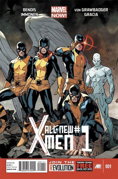 Portada del All New X-Men