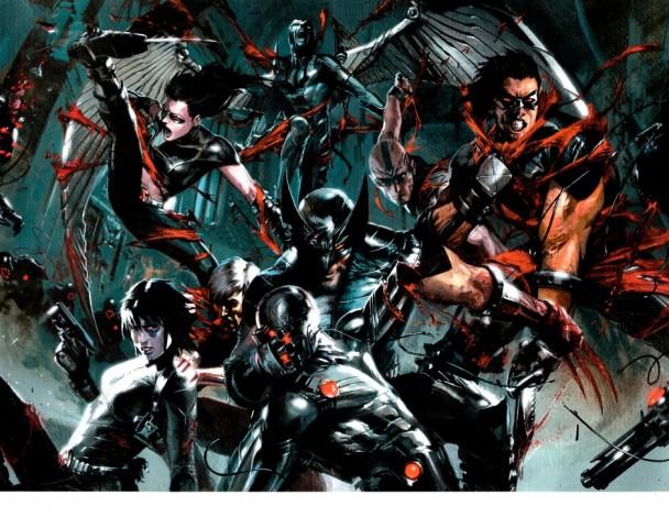 La formación de X-Force