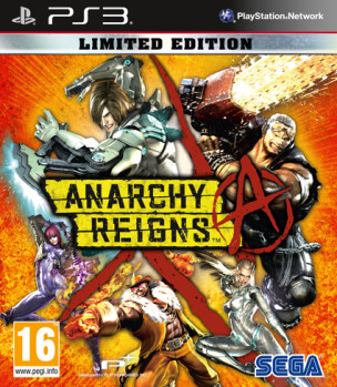Carátula de Anarchy Reigns