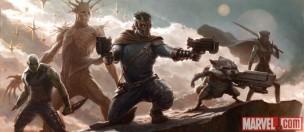 Concept - art de los Guardianes de la Galaxia