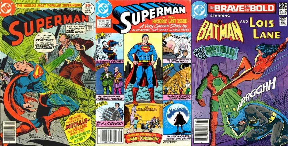 Metallo en publicaciones de DC Comics