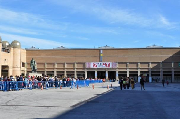 La nueva entrada al recinto del Salón del Manga de Barcelona