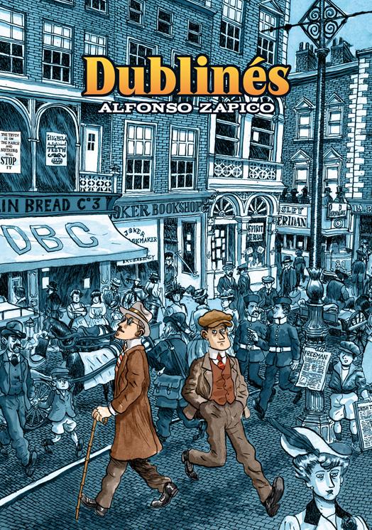 Portada de Dublinés de Alfonso Zapico