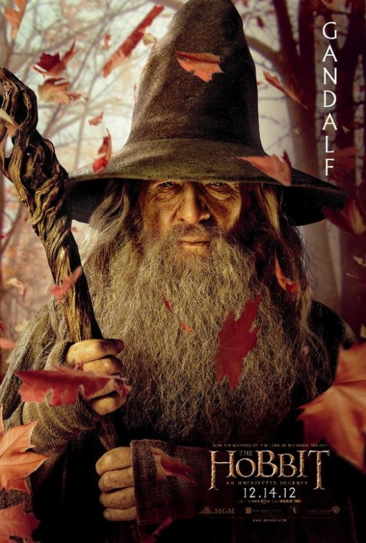 El Hobbit Gandalf