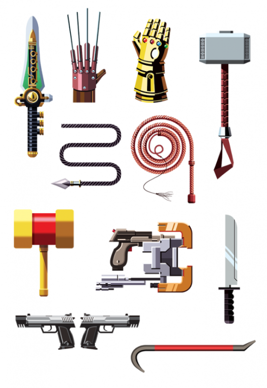 FamousWeapons 3