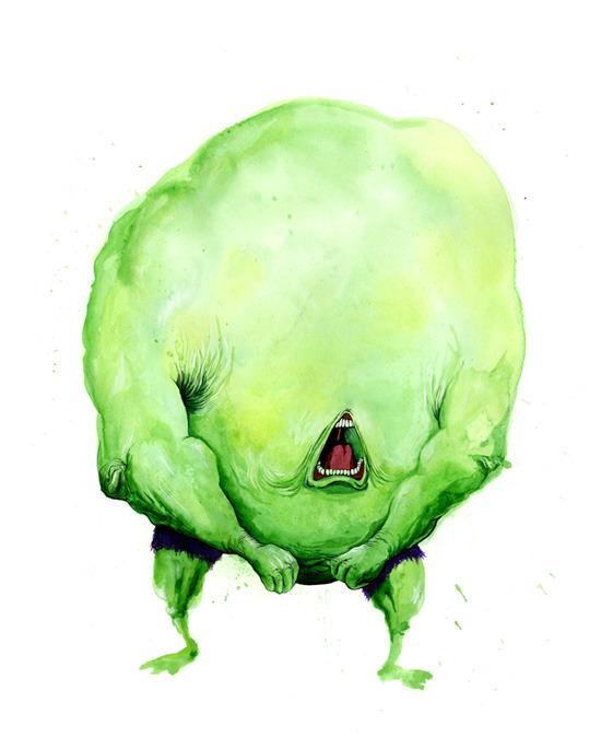 Hulk bicho
