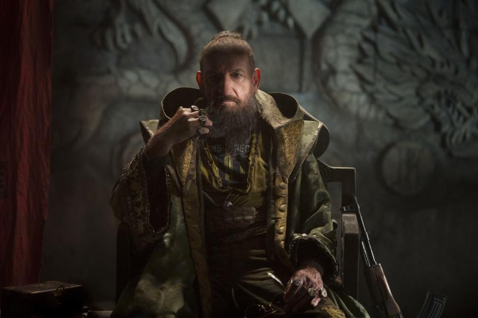 Ben Kingsley como el Mandarín en 'Iron Man 3'