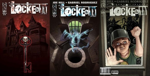 Portadas Locke and Key