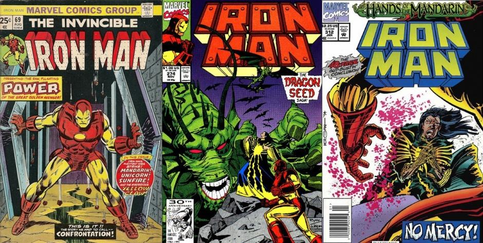 Iron Man #69, Iron Man #274 y Iron Man #312