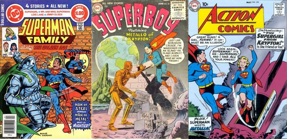 Metallo (y Metalo) en publicaciones de DC Comics