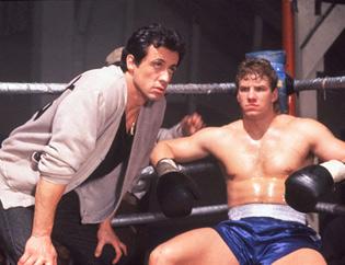 Rocky y Tommy Gunn