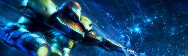 Samus Aran en Metroid prime banner