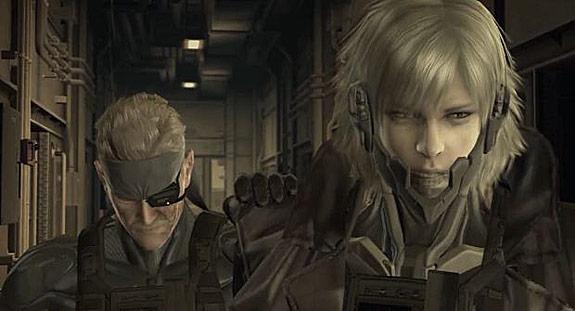 Solid Snake y Raiden Metal Gear Solid 4