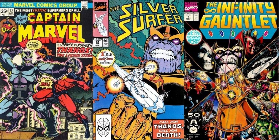 Thanos en publicaciones de Marvel Comics