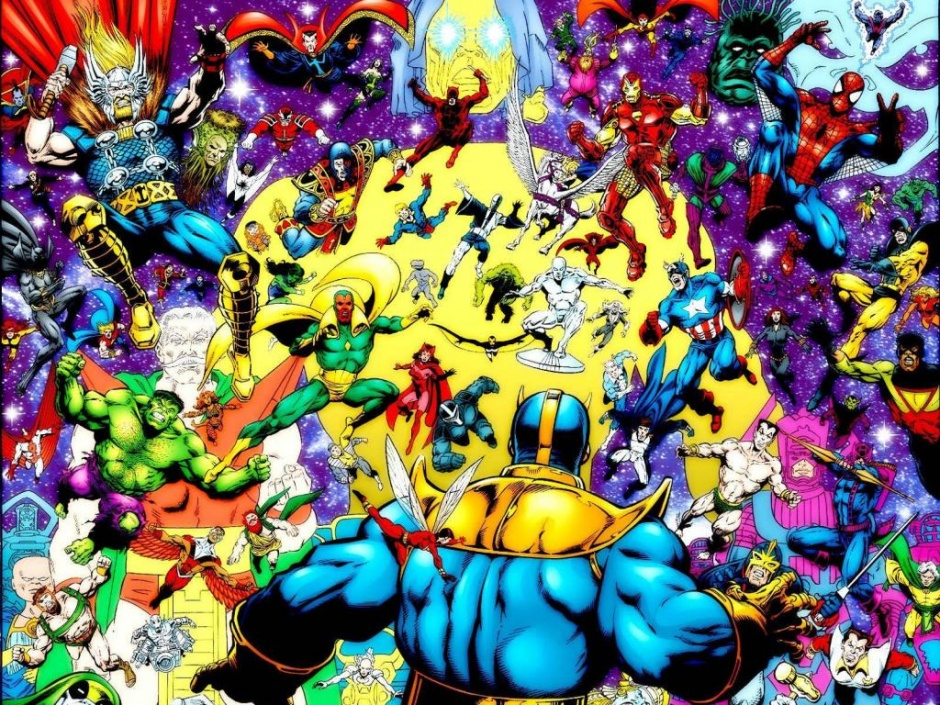 Thanos vs Universo Marvel