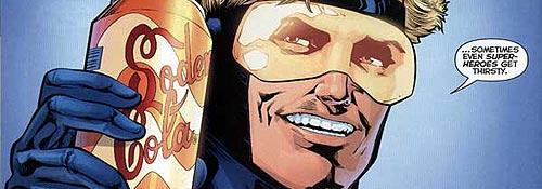 Booster Gold, uno de los protagonistas del tomo