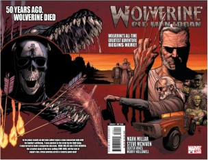 "Portada ""Wolverine: Old Man Logan #1"""