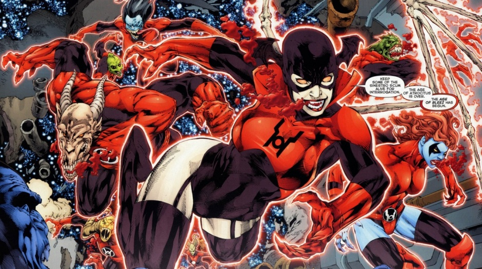 Los Red Lanterns de Atrocitus
