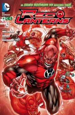 """Portada de la primera entrega de """"Red Lanterns"""""""