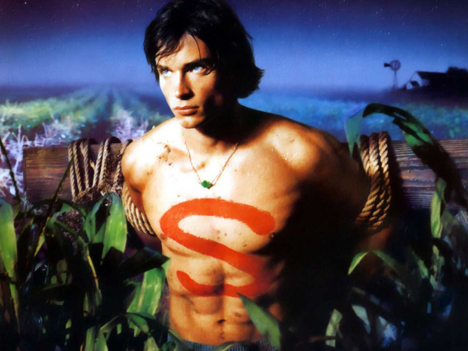 smallville-clark kent-tom welling