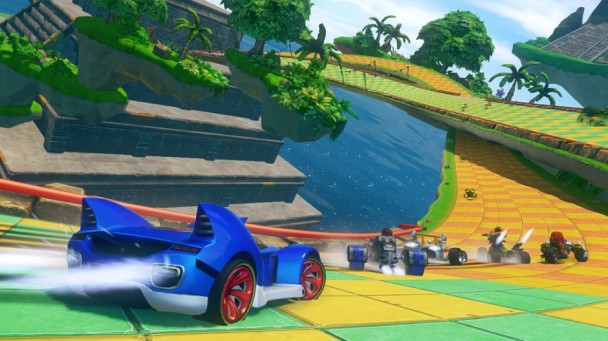 Sonic & All-Stars Racing Transformed Carrera