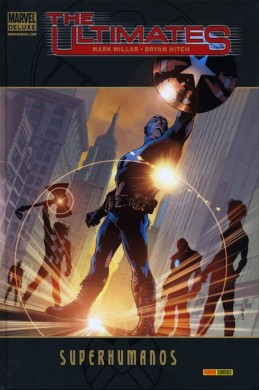 "Portada ""The Ultimates: Superhumanos"""