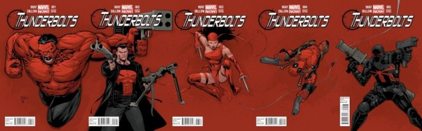 """Thunderbolts"", de Way y Dillon"