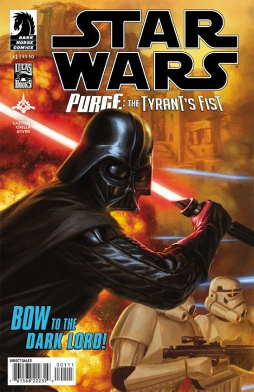Portada de Star Wars: Purge - The Tyrant's Fist #1