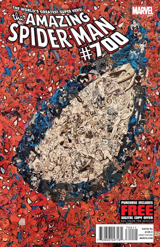 Portada de Amazing Spider-Man 700