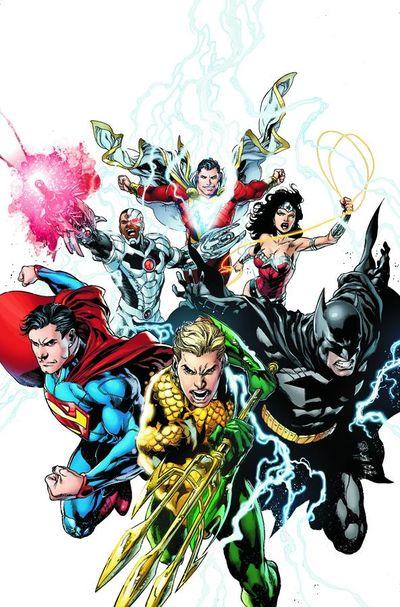 Portada de Justice League #15