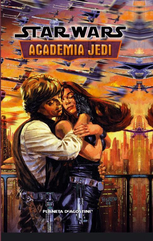Portada de Academia Jedi por Planeta deAgostini