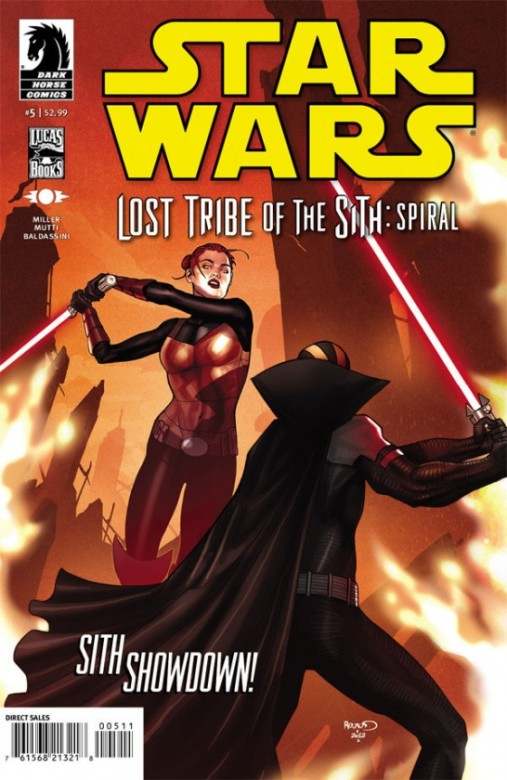 Portada de Star Wars: Lost Tribe of the Sith - Spirtal #5