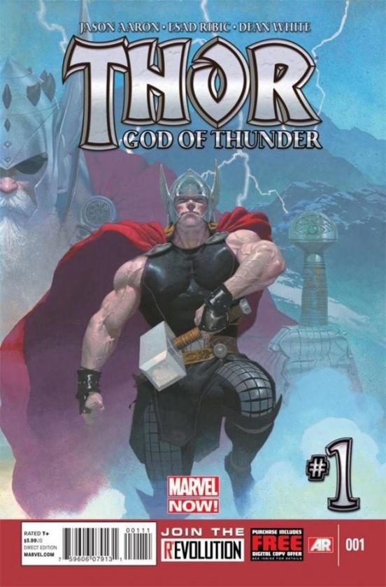 Portada de Thor: God of Thunder #1