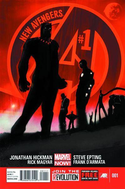 Portada de New Avengers #1