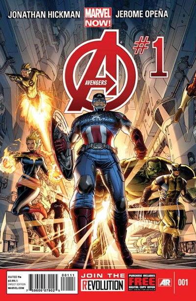 Portada de Avengers #1