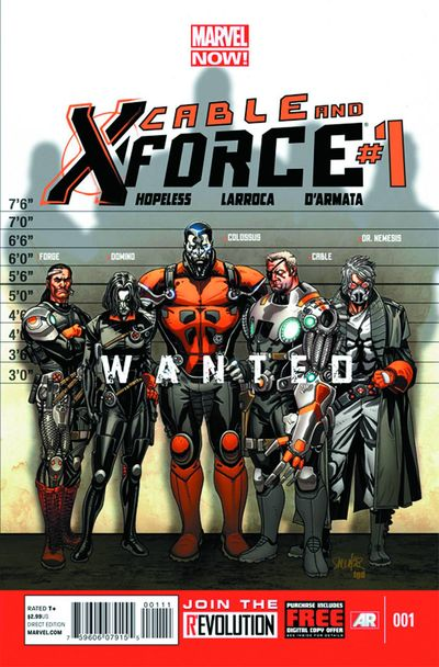 Portada de Cable & X-Force #1