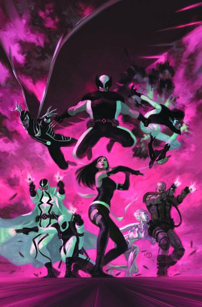 Portada del Uncanny X-Force #35