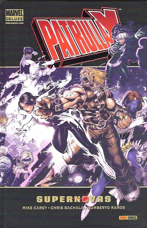 Marvel Deluxe: Patrulla X - Supernovas