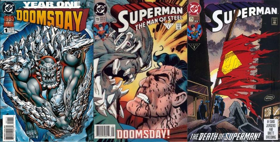 Doomsday en publicaciones de DC Comics
