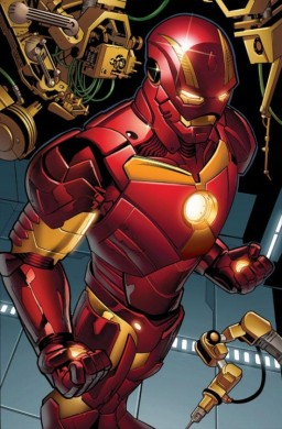 La nueva armadura de Tony Stark